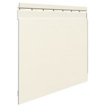 Bardage lame simple TREND Connex FS301 18X320X2950mm Ivoire