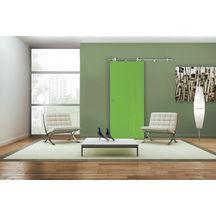 Syst me coulissant sirius pour porte en bois tube 167 50 cm sevax menuiseries bois - Systeme coulissant porte interieure ...