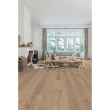 Parquet Quick Step easy to clean Massimo 3566 chêne cappuccino blond extra mat 14 x 260 x 2400 mm MAS3566S