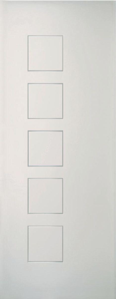 Porte coulissante Cubisme blanc Jeld-Wen - 204x73 cm