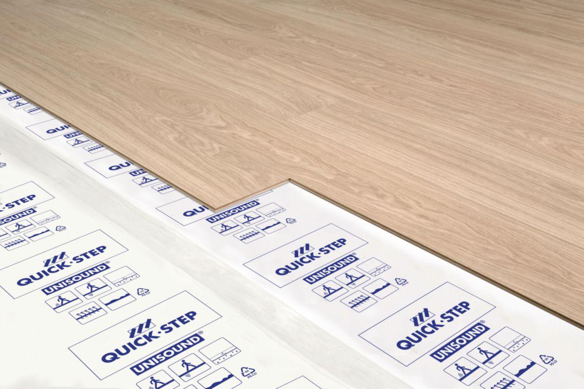 quick step sous couche qs pour sol pvc livyn2 sunheat 10. Black Bedroom Furniture Sets. Home Design Ideas