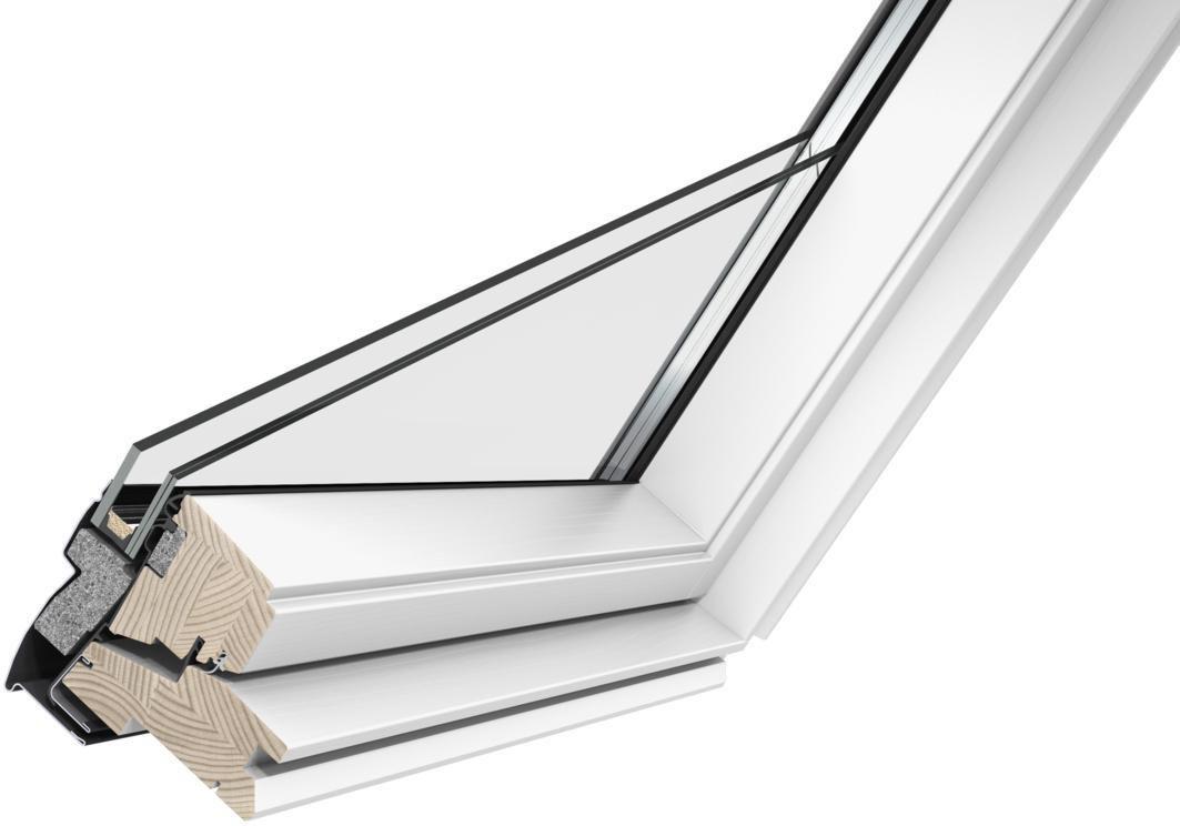 Velux Fenêtre De Toit à Rotation Manuelle Ggl Tout Confort Sk06