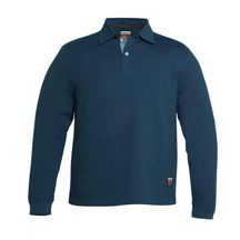 Polo Timberland manches longues Pro 330 bleu taille L