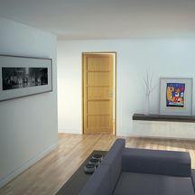 porte bois massif coulissante monnet pour ch ssis scrigno per age coquille serrure rainure. Black Bedroom Furniture Sets. Home Design Ideas