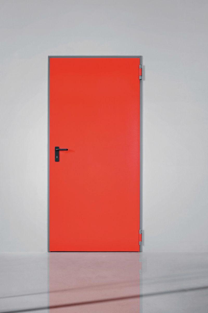 Bloc-porte metal univer multi usage laque blanc 9010 garantie usage  exterieur dim tableau 2050x1000 ep 50mm avec kit ce u.1 seuil et joint - -  NINZ ... d593d7fe018