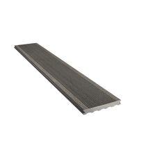 lame de terrasse bois composite l gance gris anthracite rainur l 4 0 m 23x180 mm. Black Bedroom Furniture Sets. Home Design Ideas