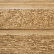 Bardage clin bois composite Ultra-Plank - profil lame double - teinte Yellowstone - L. 3,66 m - 10x280 mm
