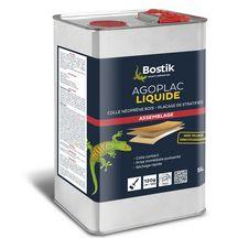 colle agoplac liquide bidon de 5 litres bostik outillage quincaillerie bois panneaux. Black Bedroom Furniture Sets. Home Design Ideas