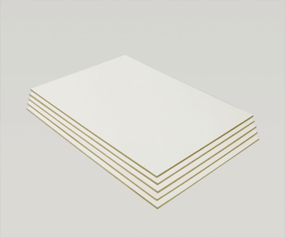 Panneau Mdf Laqué Blanc 2100x1220 Mm ép 3 Mm