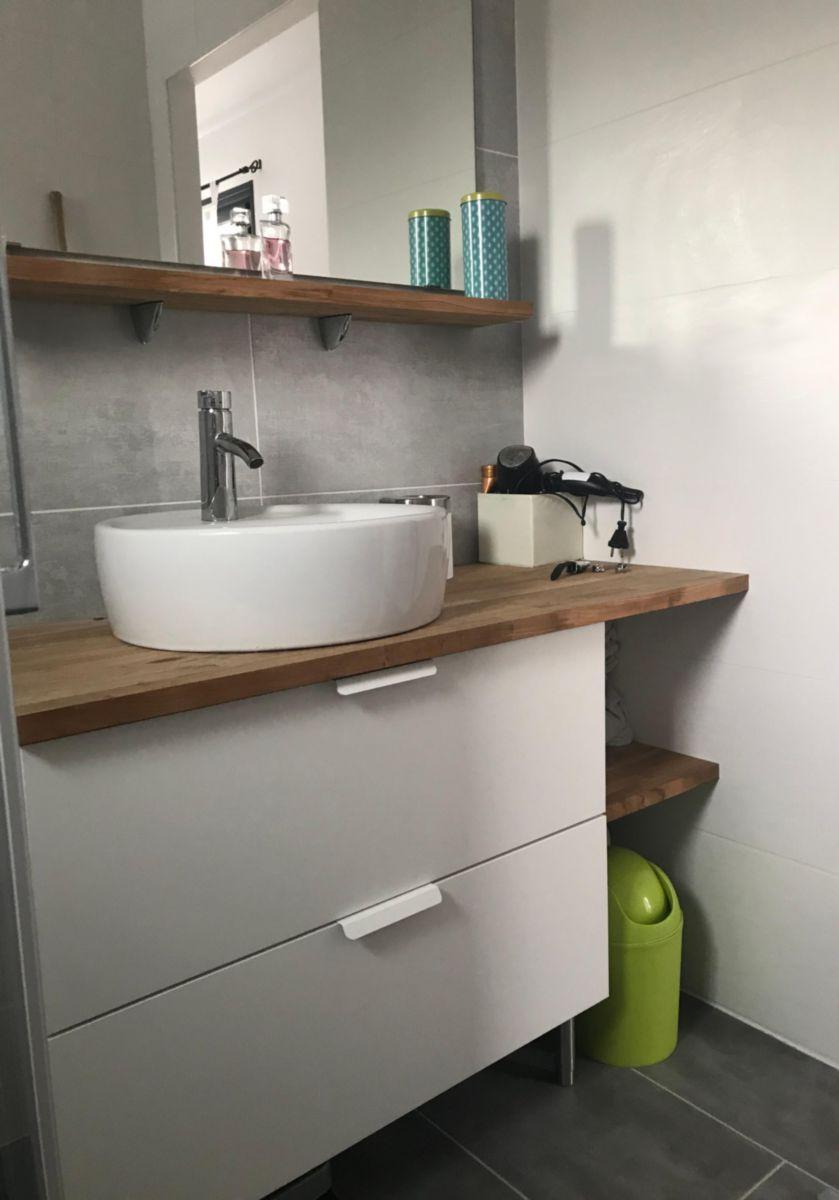 sotrinbois plan de travail teck ab lamell coll about. Black Bedroom Furniture Sets. Home Design Ideas